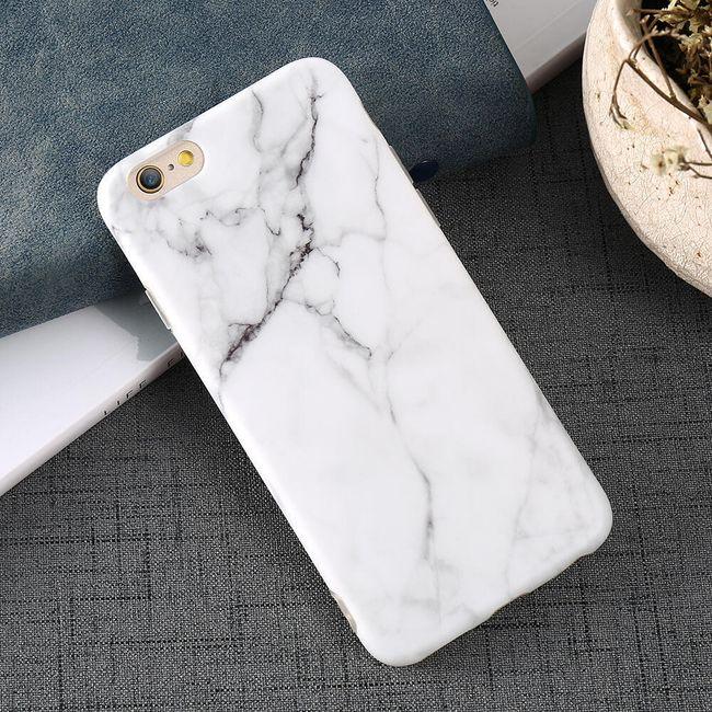 Kryt na iPhone se vzorem mramoru - 2 barvy 1