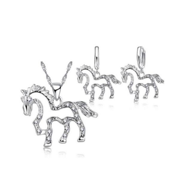 Sada šperků s koníčky 1