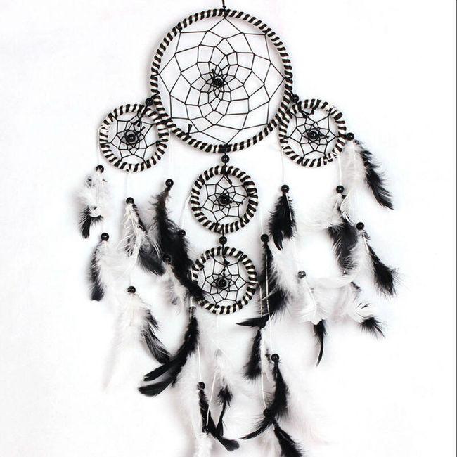 Lapač snů v černobílé barvě 1
