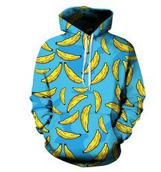 Unisex mikina s banány