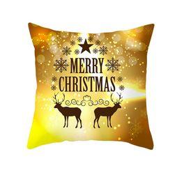 Vánoční povlak na polštář B05534