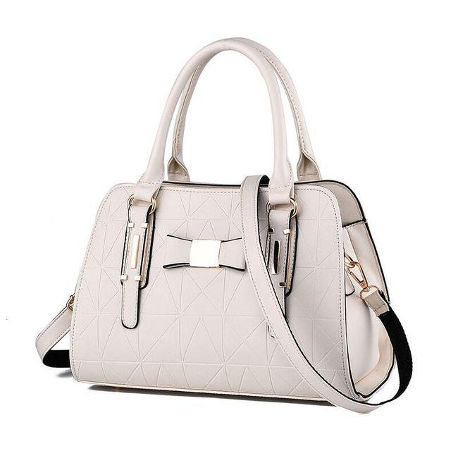 Luxusní dámská kabelka s mašlí - mix barev 1