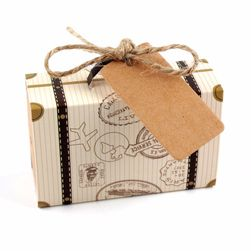 Dárkové papírové krabičky - 10 ks