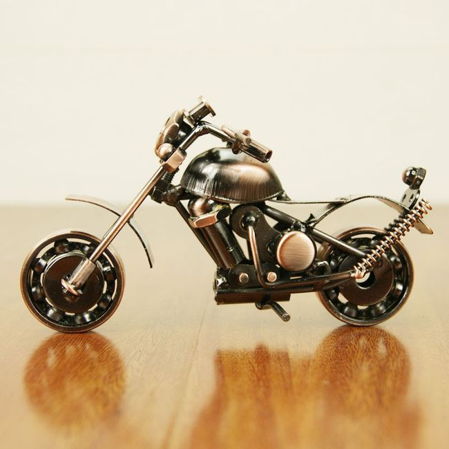 Dekorace pro muže - motorka - 3 varianty 1