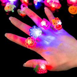Dívčí LED prstýnky DP1