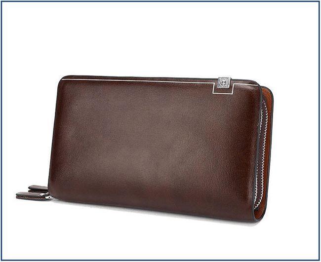 Pánská dvojitá peněženka - 3 barvy 1