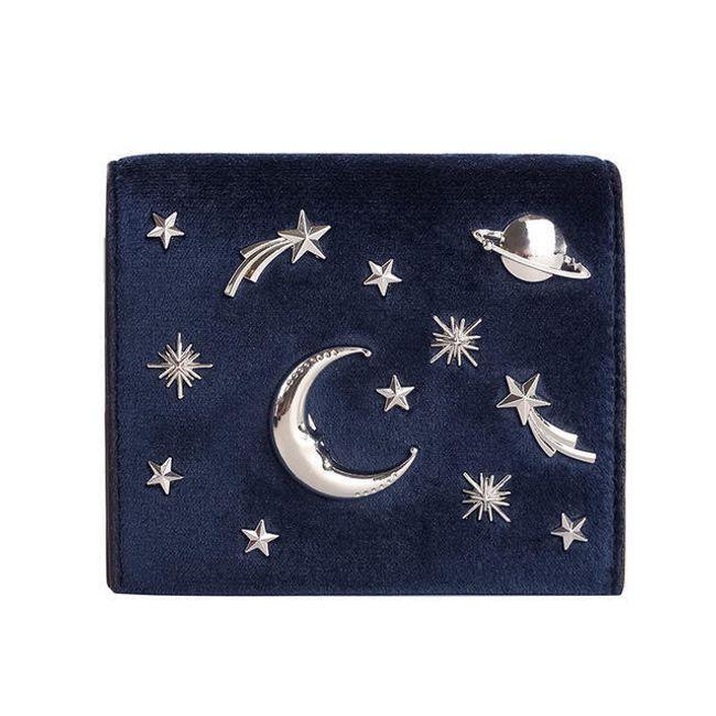 Malá peněženka s vesmírnými motivy 1
