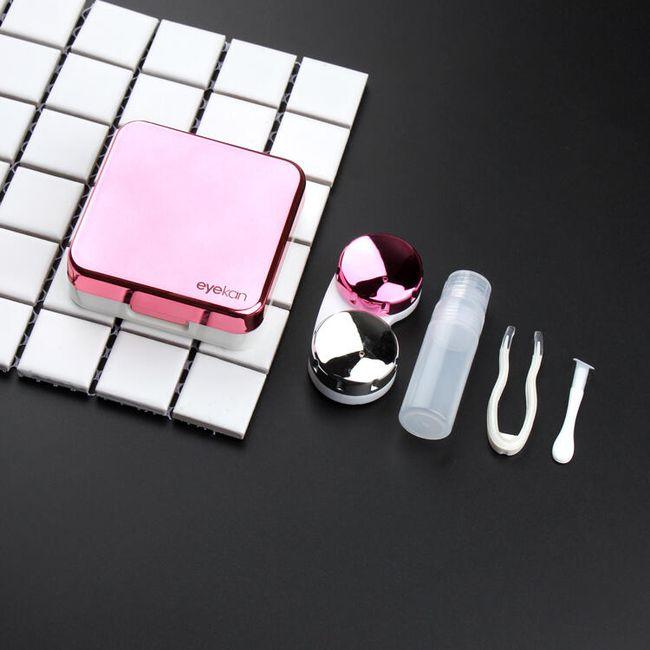Krabička na kontaktní čočky se zrcátkem 1