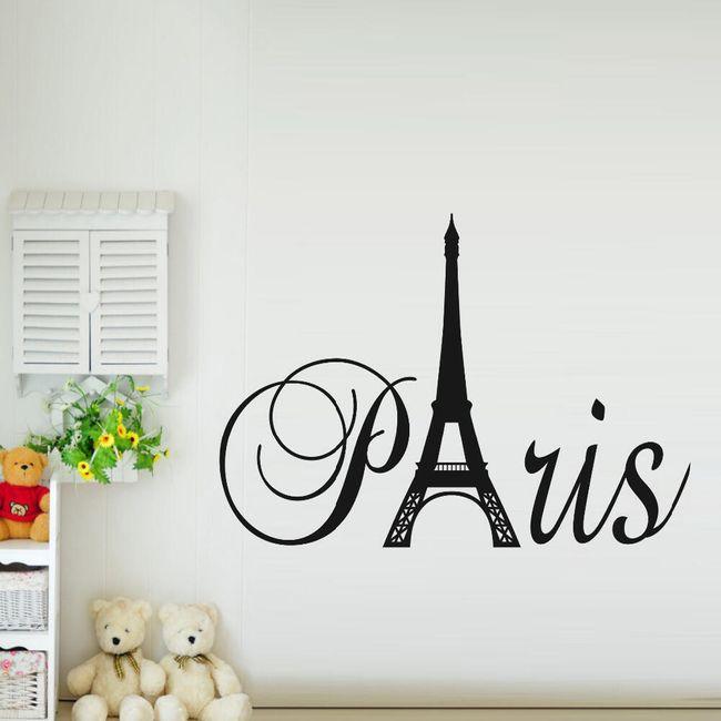 Samolepka - Paříž 1
