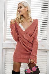 Pletené šaty - svetrové