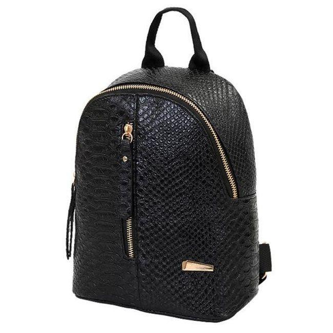 Elegantní batoh z umělé kůže 1