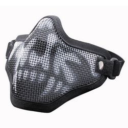 Taktická drátěná maska na obličej - 3 barvy