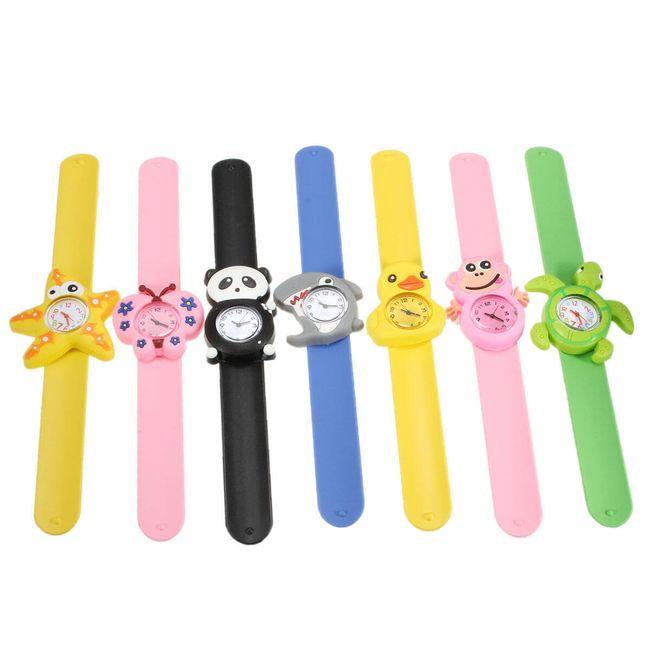 Dětské hodinky s motivy zvířátek 1