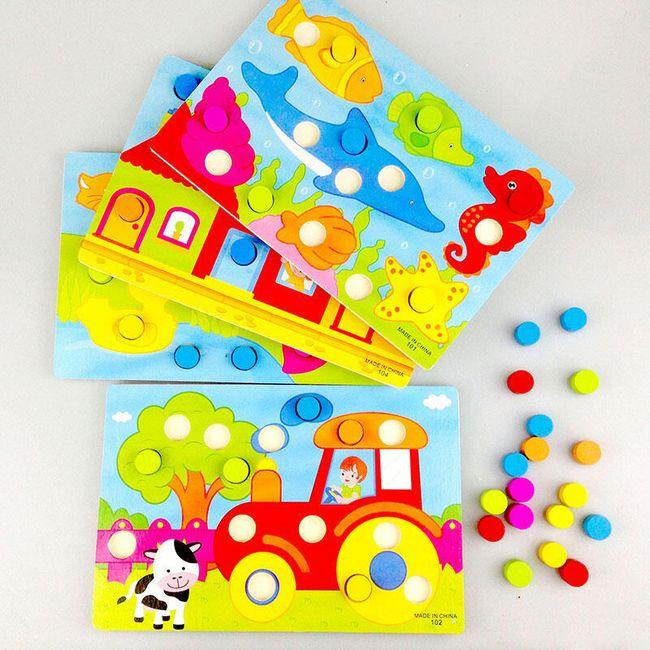 Vzdělávací hračka pro děti - Rozpoznávání barev 1