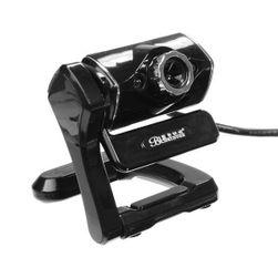 Webkamera se zabudovaným mikrofonem