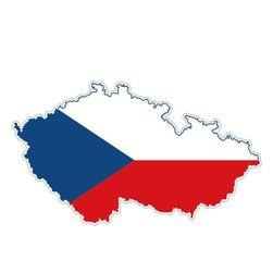 Samolepka České republiky na auto
