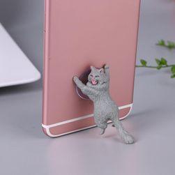 Stojánek na telefon - kočička