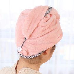 Praktická osuška na vlasy - 4 barvy
