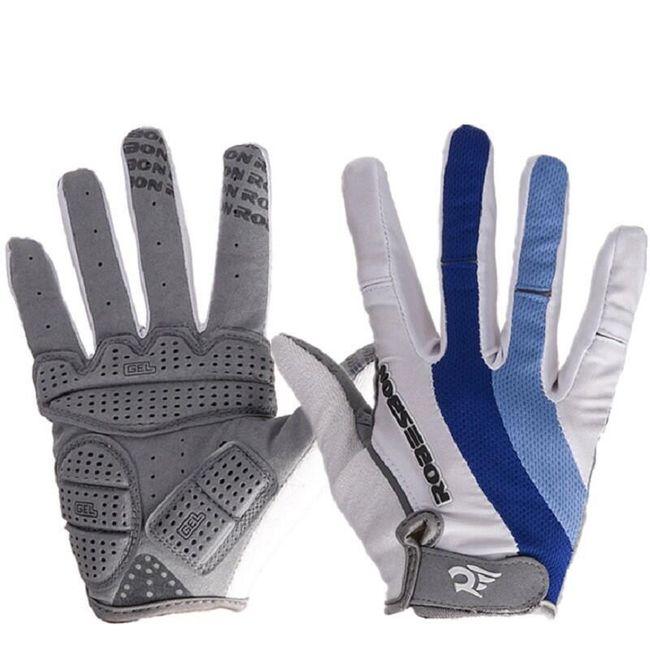 Pánské zateplené rukavice na cyklistiku 1