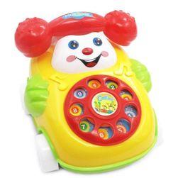 Dětský plastový telefon