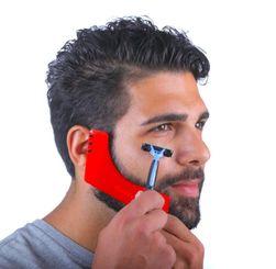 Pomůcka na tvarování vousů