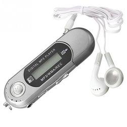 MP3 přehrávač podporující paměť až 32 GB