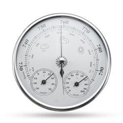 Analogový tlakoměr, teploměr a vlhkoměr na stěnu