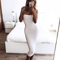 Dámské šaty bez ramínek Natalii