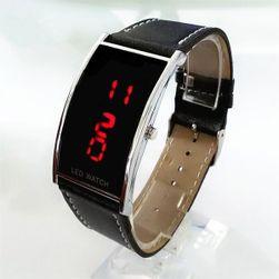 LED hodinky s červenými čísly