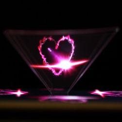 3D pyramida pro zobrazení hologramu