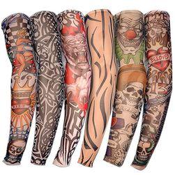 Falešné tetování - elastický rukáv / 6 ks