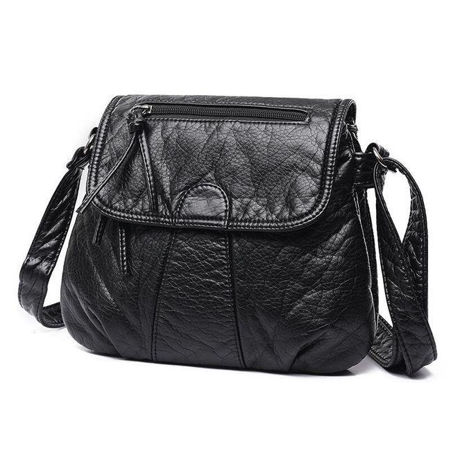 Dámská taška v černé barvě - na pochůzky 1