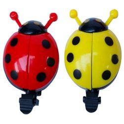 Zvonek na kolo ve tvaru berušky - na výběr ze dvou barev