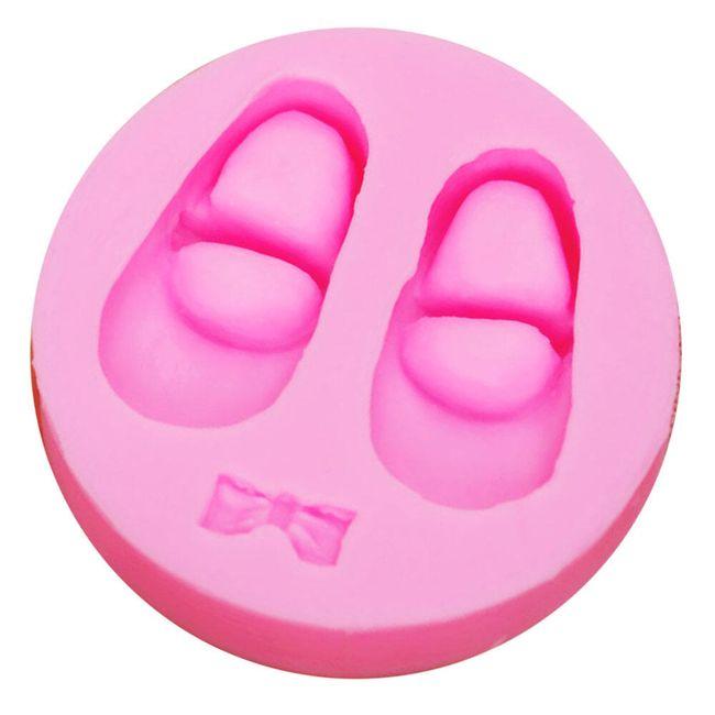 3D formička - dětské botičky 1