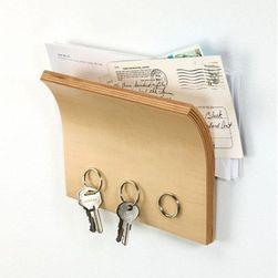 Polička na klíče a noviny - magnetická