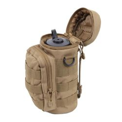 Vojenské pouzdro na lahev s kapsičkou