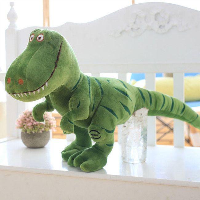 Plyšový dinosaurus - 2 barvy 1