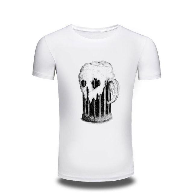 Pánské tričko s půllitrem 1
