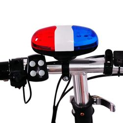 Světlo na kolo se zvonkem
