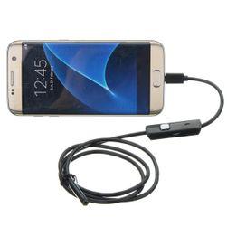 Micro USB endoskop s LED osvícením - 1 m / 5,5 mm