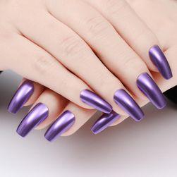 Metalický lak na nehty - 15 barev