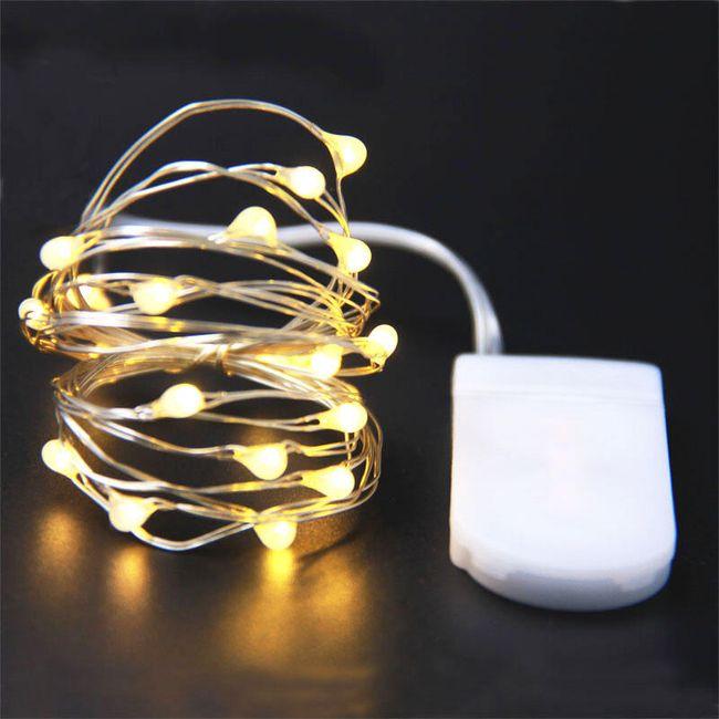 Dekorační vánoční světélka na baterky 1