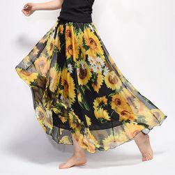 Dlouhá vzdušná sukně Summer
