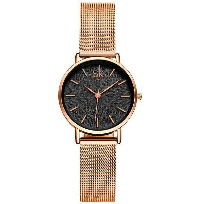 Elegantní hodinky s tenkým řemínkem - 2 barvy 1