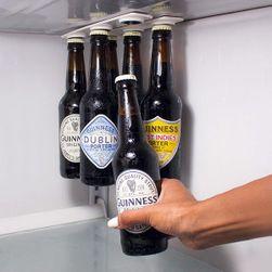 Magnetický držák na lahve do ledničky