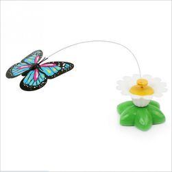 Hračka pro kočky - létající kolibřík, motýl
