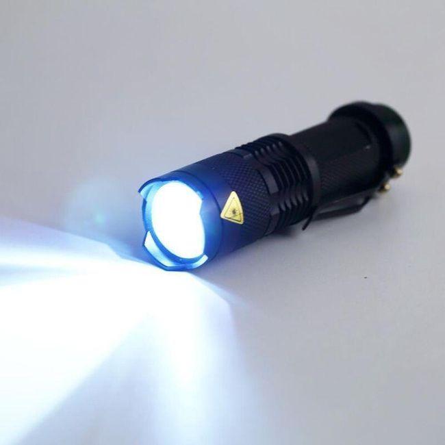 LED svítilna - 3 varianty 1