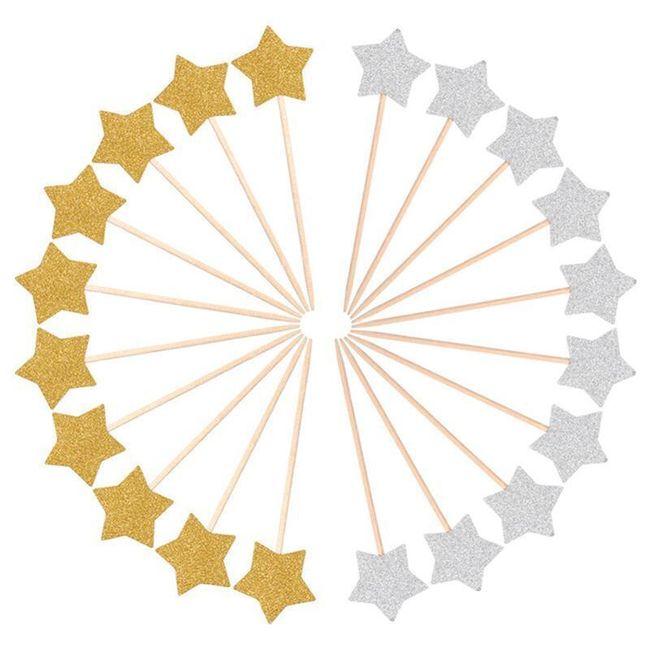 Dekorativní zapichovací hvězdičky 1