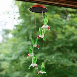 Solární světlo s kolibříky