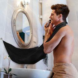 Zástěra na holení pro muže - černá